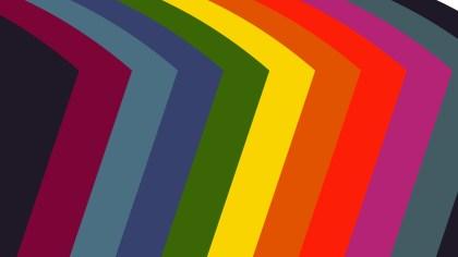 Colorful Arrow Background Vector Art