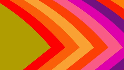 Colorful Arrow Background