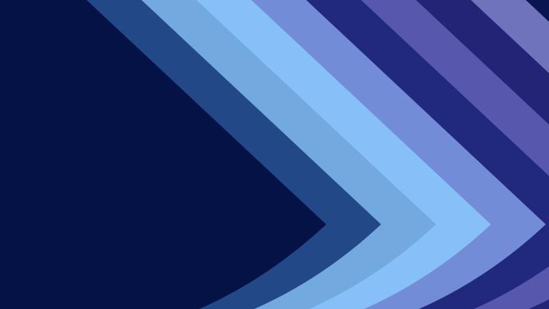 Dark Blue Arrow Background