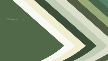 Green and White Arrow Background Vector Image
