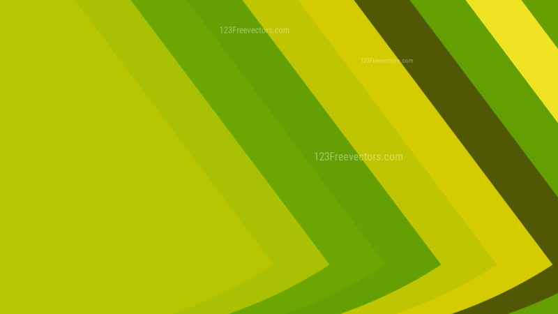 Green and Yellow Arrow Background Illustration