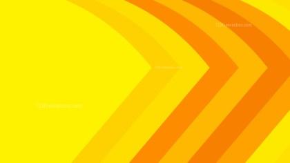 Orange and Yellow Arrow Background