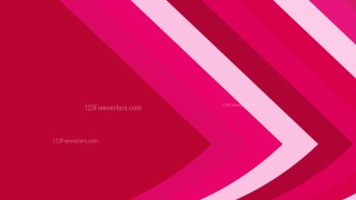 Pink and Red Arrow Background Vector Art