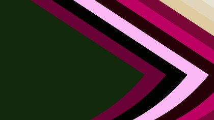 Pink Green and Black Arrow Background Vector Image
