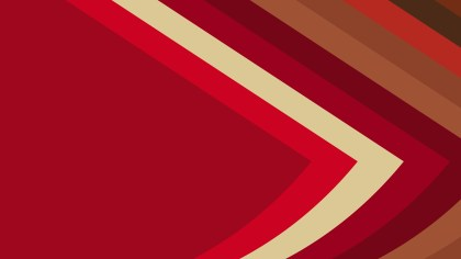 Red and Gold Arrow Background