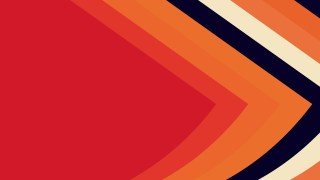 Red and Orange Arrow Background Illustration
