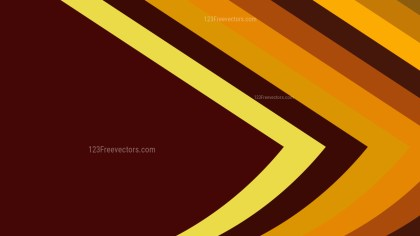 Red and Orange Arrow Background Vector Image