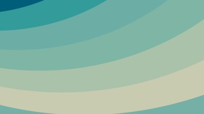 Beige and Turquoise Curved Stripes Background Illustration