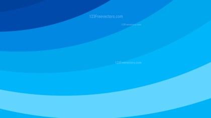 Blue Curved Stripes Background Illustration