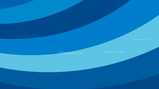 Blue Curved Stripes Background