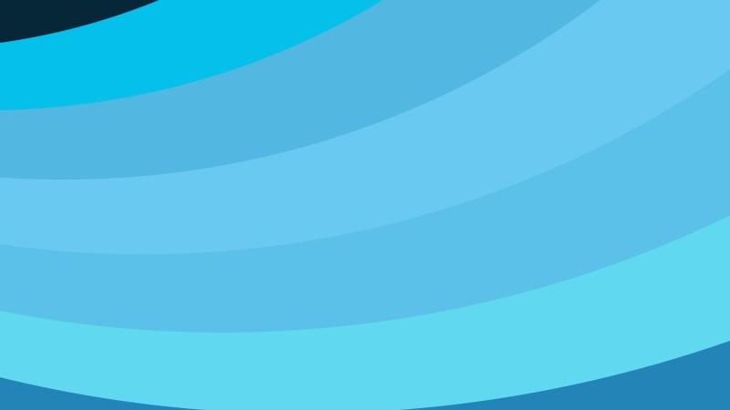 Blue Curved Stripes Background
