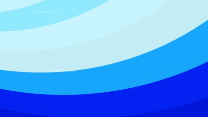 Blue Curved Stripes Background Illustration