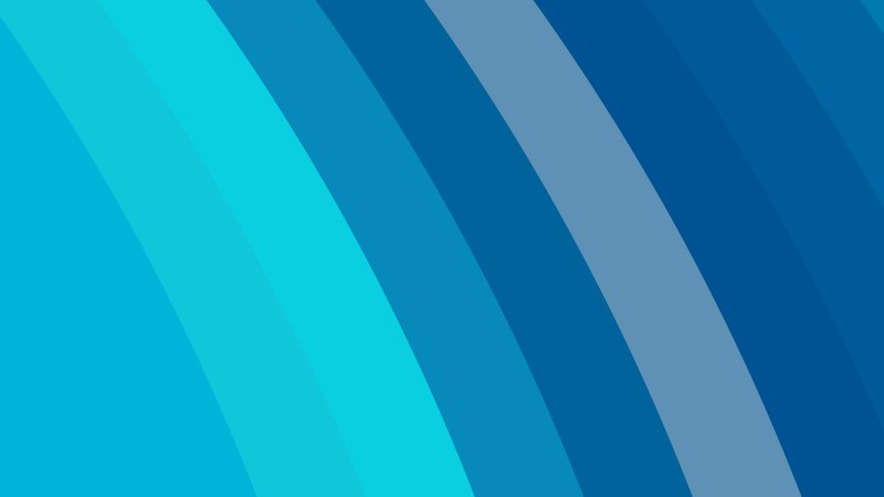 Blue Curved Stripes Background Vector Image