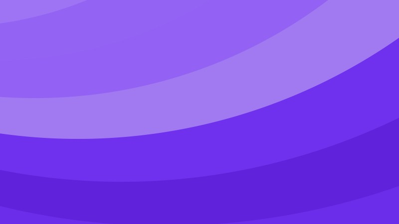 Blue and Purple Curved Stripes Background