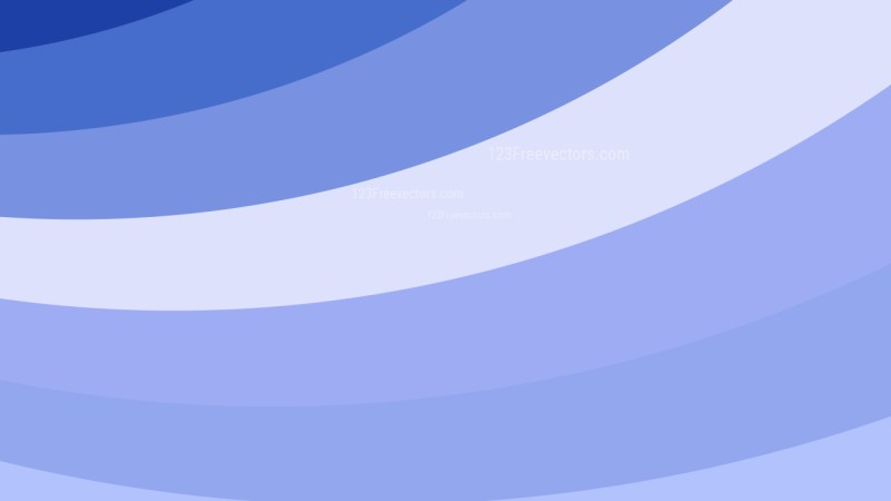 Blue and White Curved Stripes Background Image