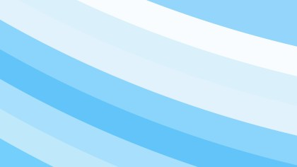 Blue and White Curved Stripes Background Vector Image