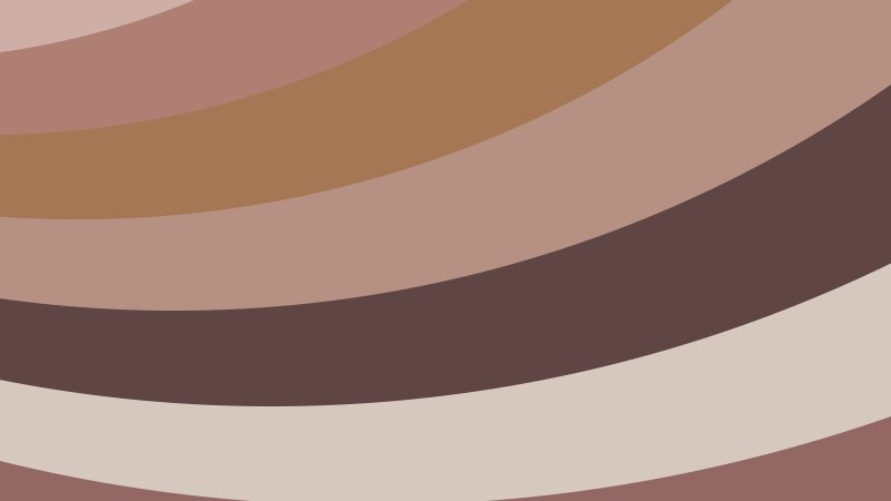 Brown Curved Stripes Background