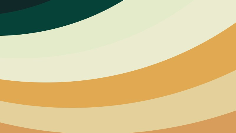 Brown and Green Curved Stripes Background