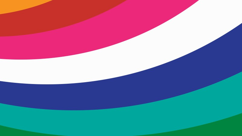 Colorful Curved Stripes Background Image
