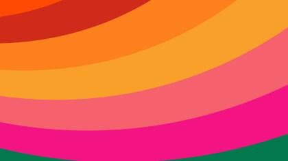 Colorful Curved Stripes Background