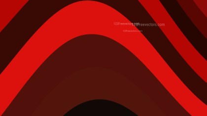 Cool Red Curved Stripes Background