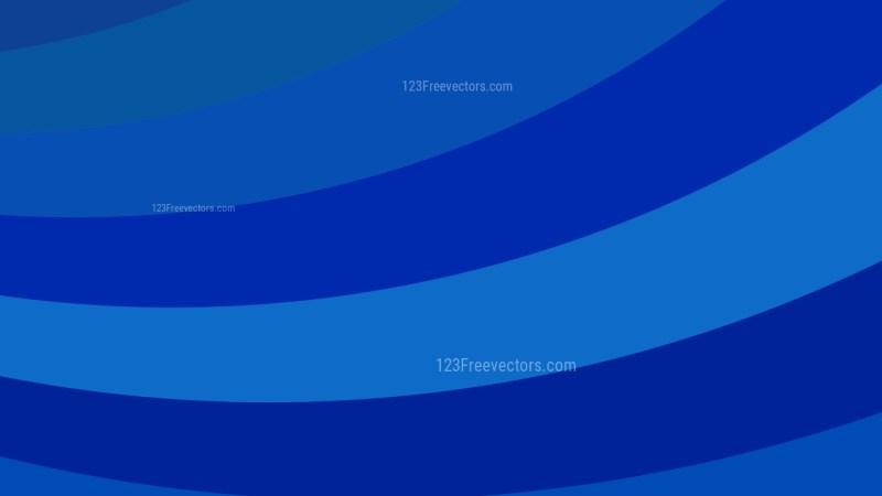 Dark Blue Curved Stripes Background