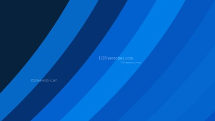 Dark Blue Curved Stripes Background Vector Illustration