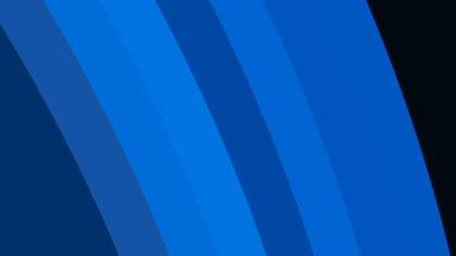 Dark Blue Curved Stripes Background