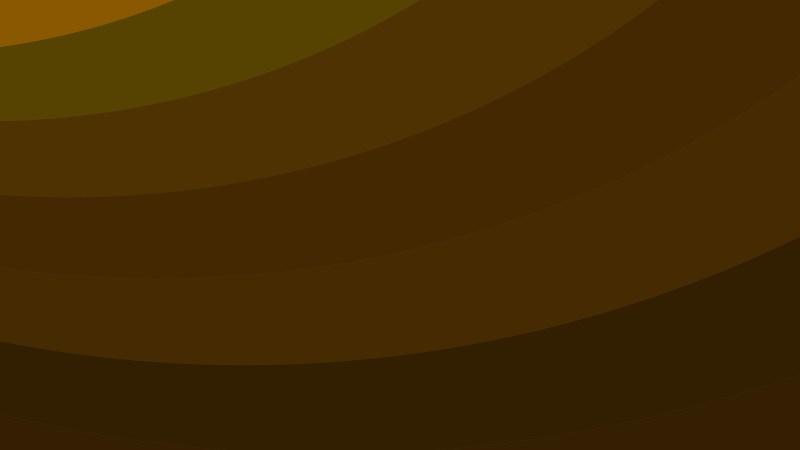 Dark Brown Curved Stripes Background