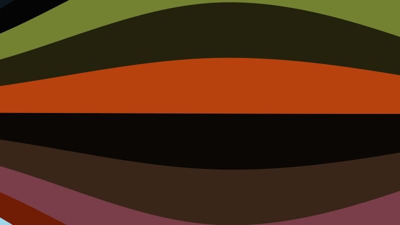 Dark Color Curved Stripes Background Vector Image