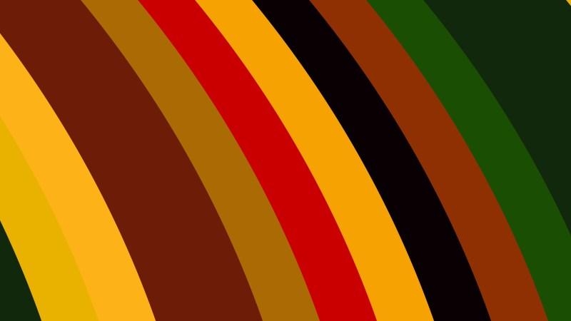 Dark Color Curved Stripes Background Vector Illustration