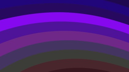Dark Purple Curved Stripes Background