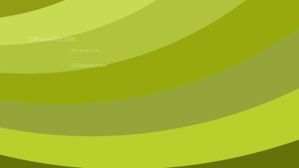 Green Curved Stripes Background