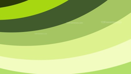 Green and Beige Curved Stripes Background Illustration