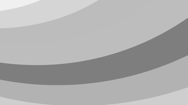 Grey Curved Stripes Background Illustration