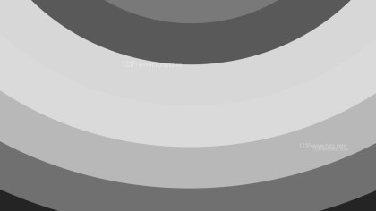 Grey Curved Stripes Background Vector Art
