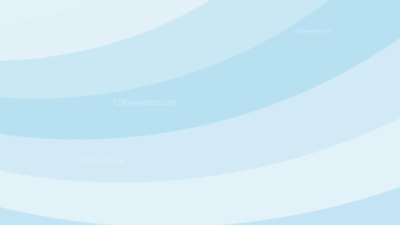 Light Blue Curved Stripes Background