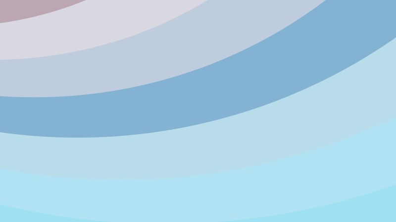 Light Blue Curved Stripes Background Vector Image
