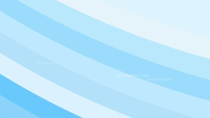 Light Blue Curved Stripes Background