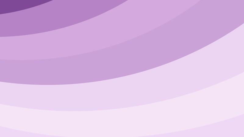Light Purple Curved Stripes Background