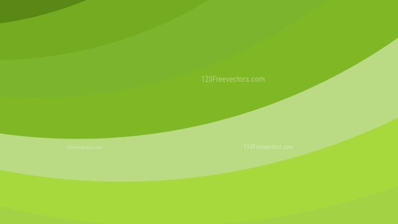 Lime Green Curved Stripes Background Illustration