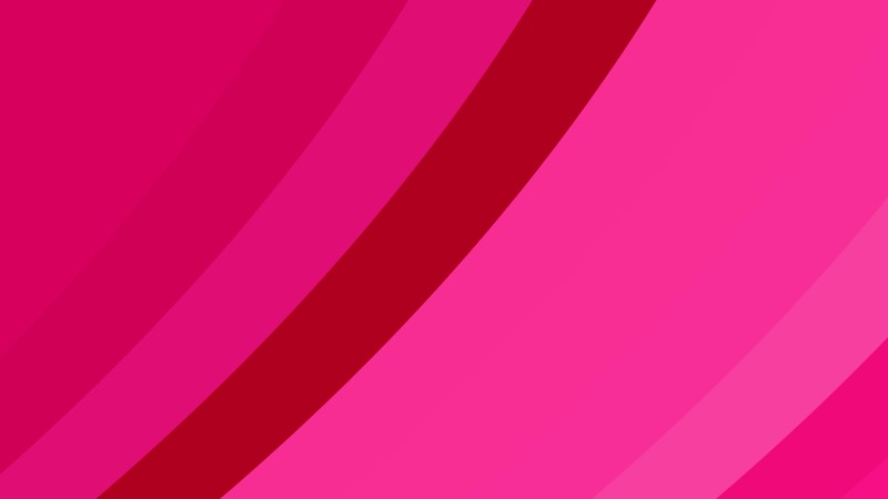 Magenta Curved Stripes Background