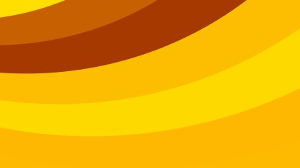 Orange Curved Stripes Background Vector Image