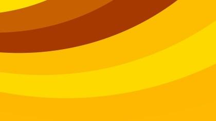 Orange Curved Stripes Background Vector Image