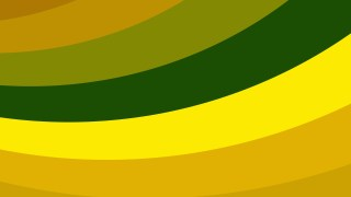 Orange and Green Curved Stripes Background