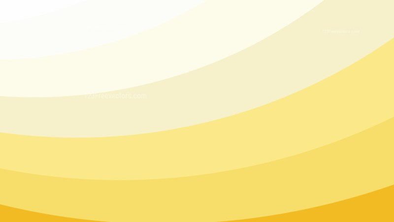 Orange and White Curved Stripes Background Vector Art