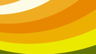 Orange and Yellow Curved Stripes Background Vector Illustration