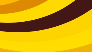 Orange and Yellow Curved Stripes Background