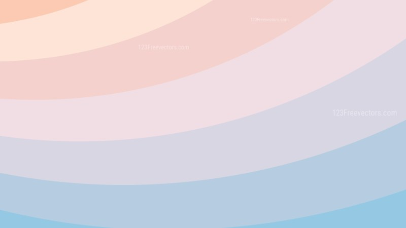 Pink and Blue Curved Stripes Background
