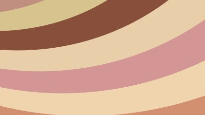 Pink and Brown Curved Stripes Background Image